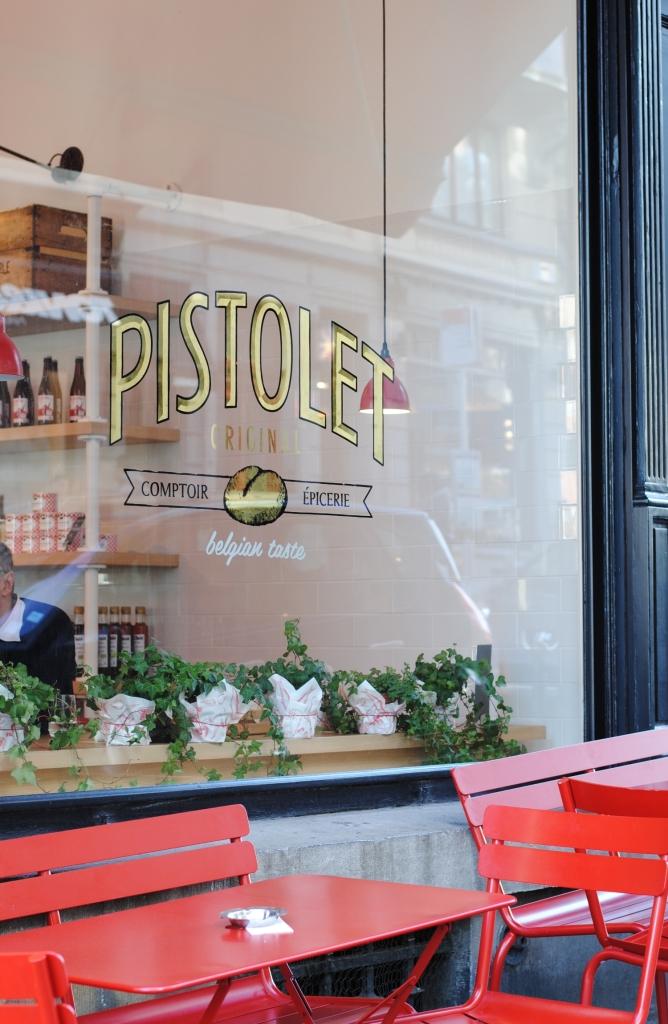 Manger à Bruxelles - Pistolet Original 01