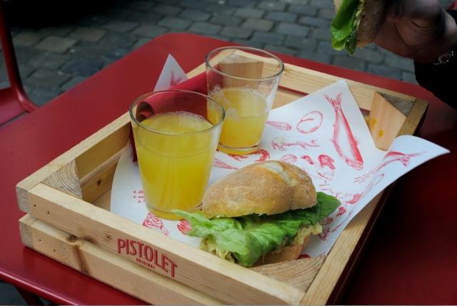 Manger à Bruxelles - Pistolet Original 04