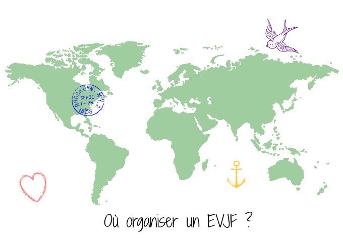 Organiser un EVJF reussi - Ou organiser