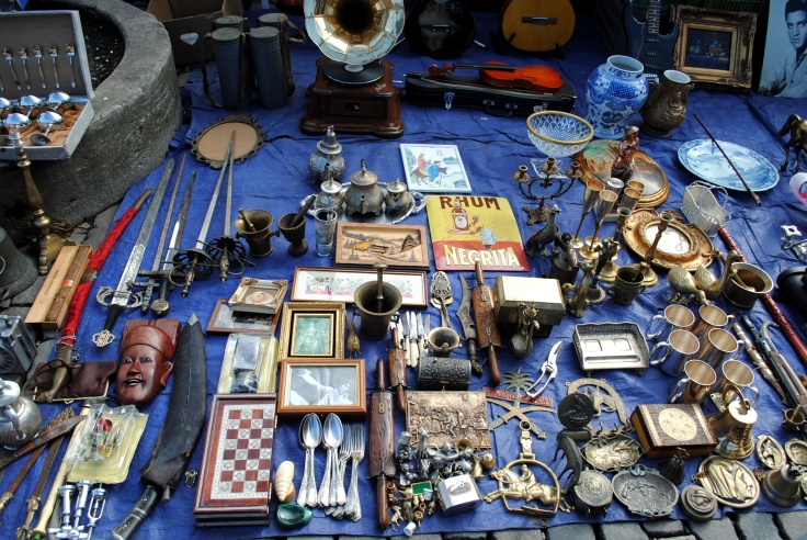 Week-end Bruxelles Shopping - Brocante place du jeu de balle 02