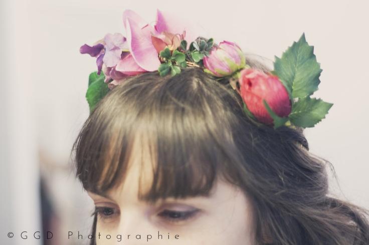 EVJF Lyon - couronne de fleurs