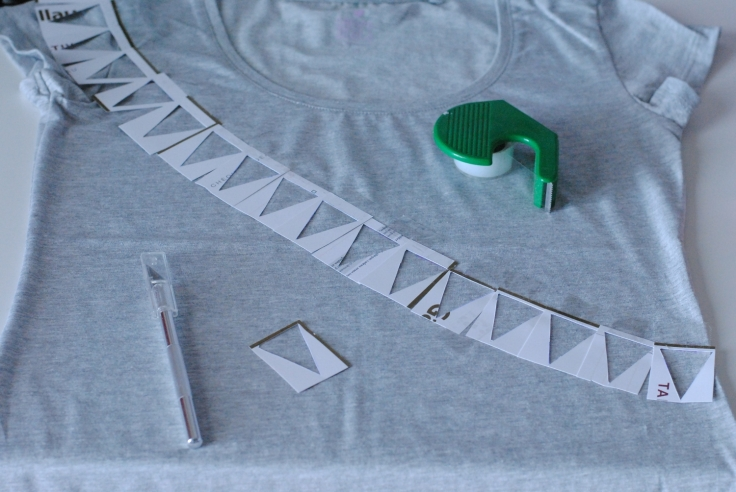 DIY T-shirt Fanions 05