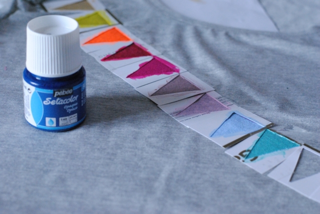 DIY T-shirt Fanions 06