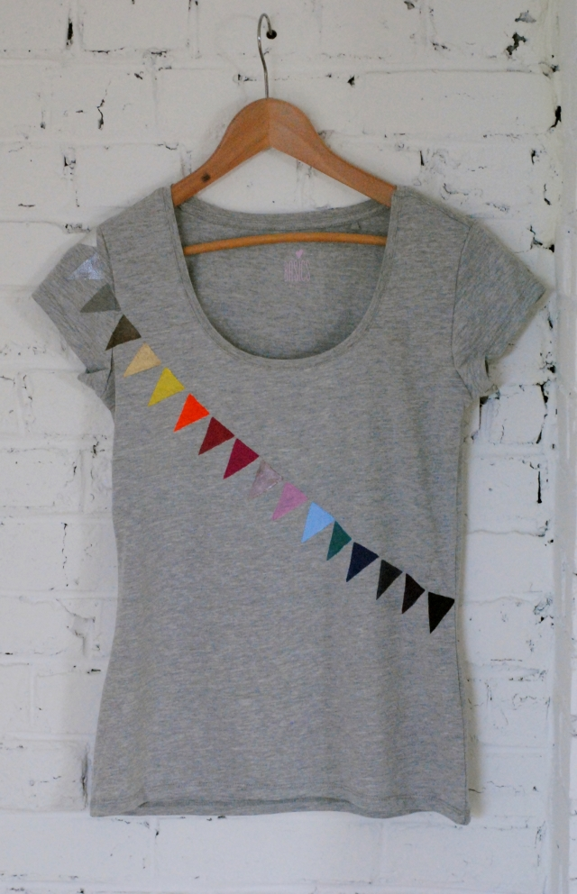 DIY T-shirt Fanions 09