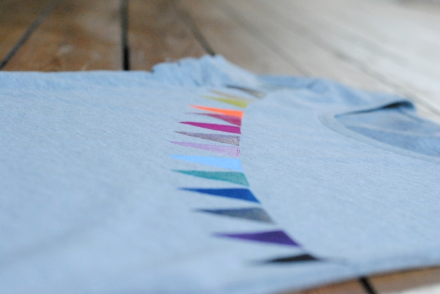 DIY T-shirt Fanions 10