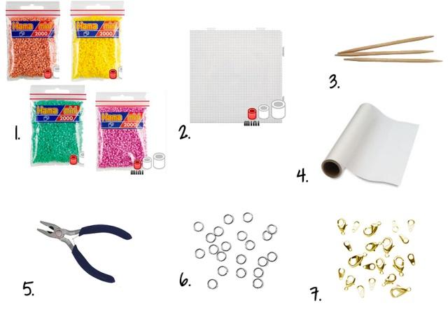 fournitures-pendentifs perles hama