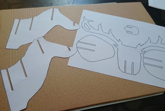 DIY renne en carton 01