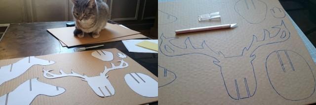 DIY renne en carton 02