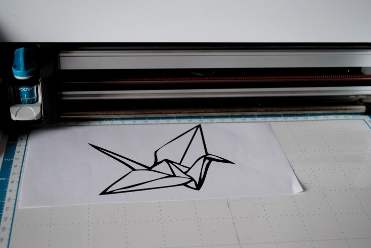 Scan n cut - grue origami 01