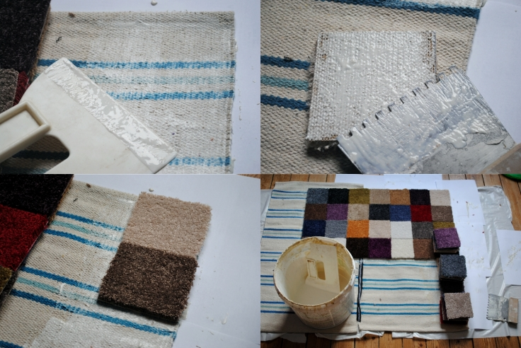 DIY tapis multicolore 03