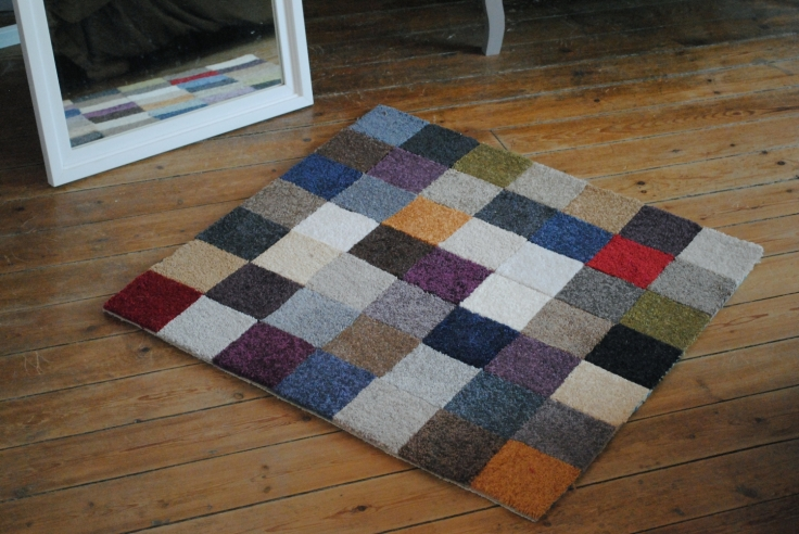 DIY tapis multicolore 08