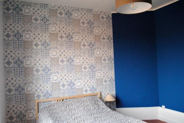 Papier peint azulejos 03