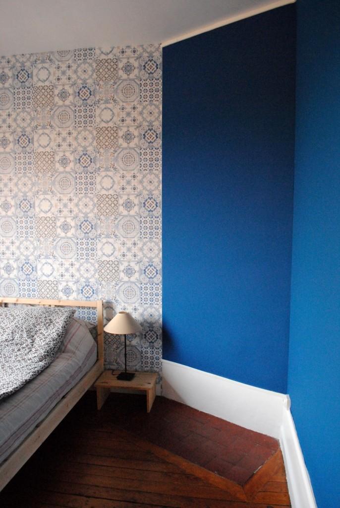 Papier peint azulejos 04