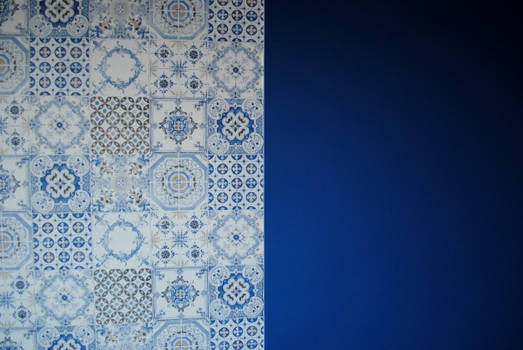Papier peint azulejos 06