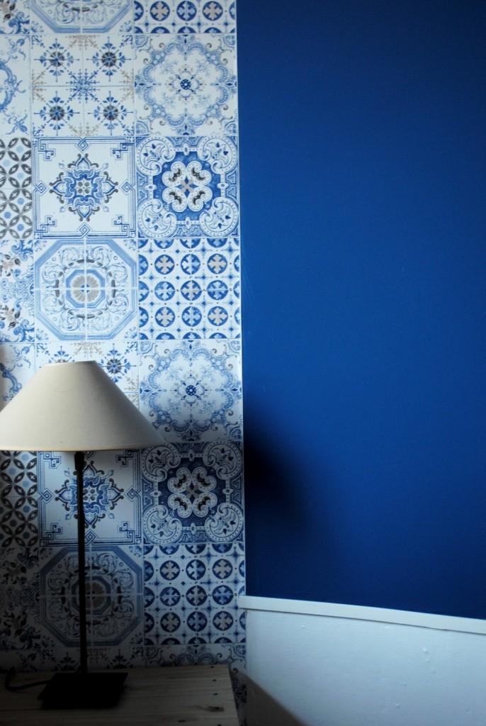 Papier peint azulejos 07