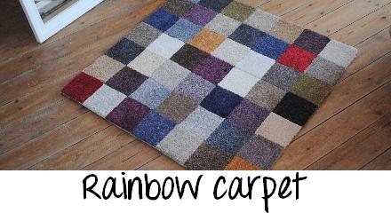 vedette - DIY tapis multicolore