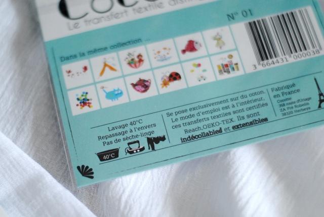 Transfert textile Cocotte 03