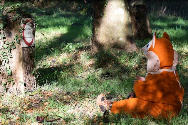 Deguisement ecureuil bebe halloween 01