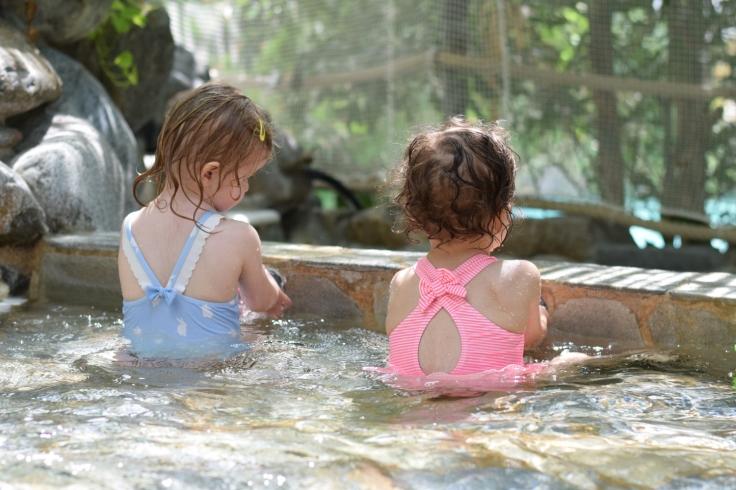 Activites Center Parcs Hauts de Bruyeres pataugeoire aquamundo