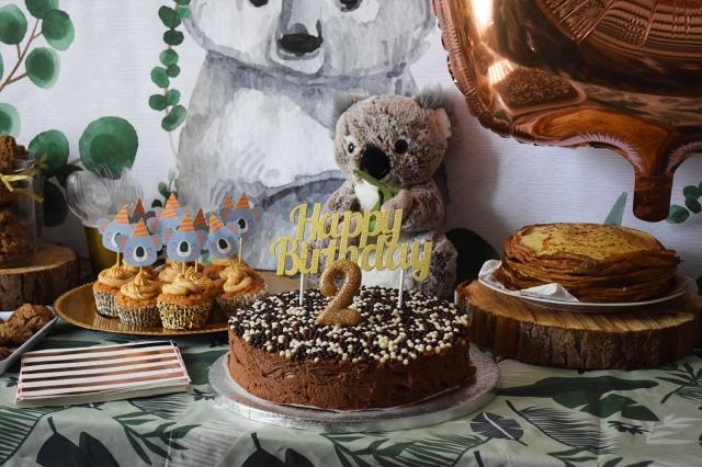 Organiser anniversaire 2 ans - decoration la recre c est party 03