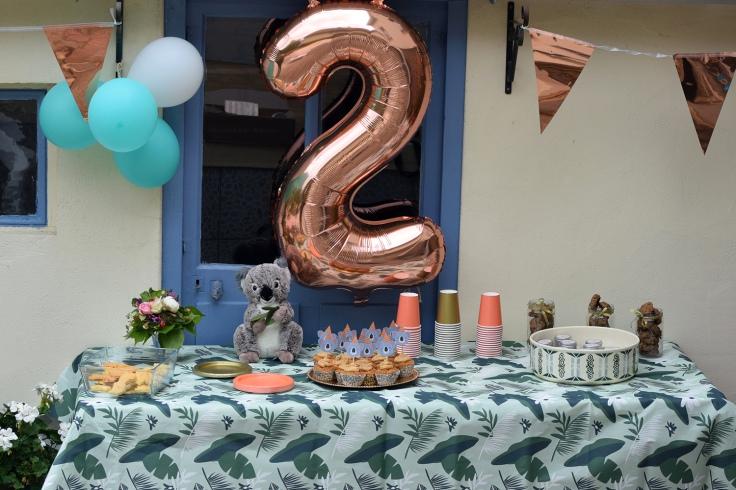 Organiser anniversaire 2 ans - decoration la recre c est party