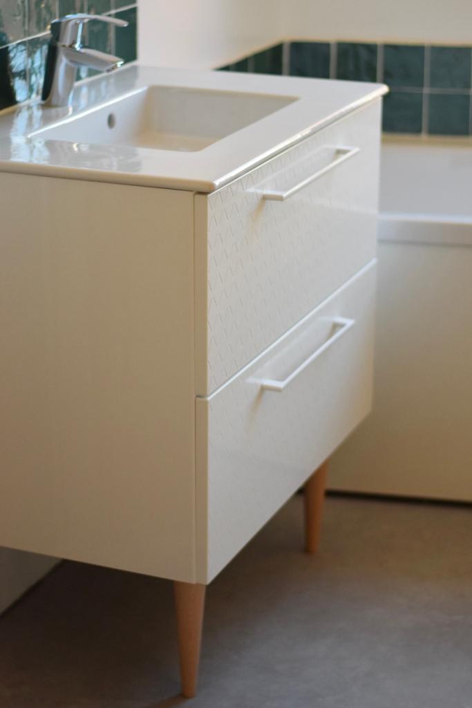 Renovation salle de bain ancienne faience zellige 06