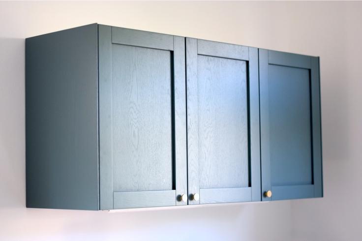 Renovation cuisine ancienne meuble ikea plum kitchen bleu paon 03