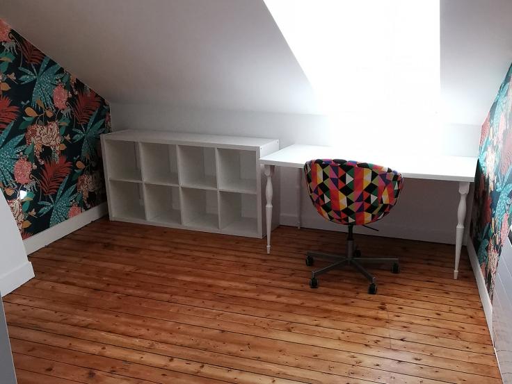 Travaux atelier couture et diy papier peint marburg 09
