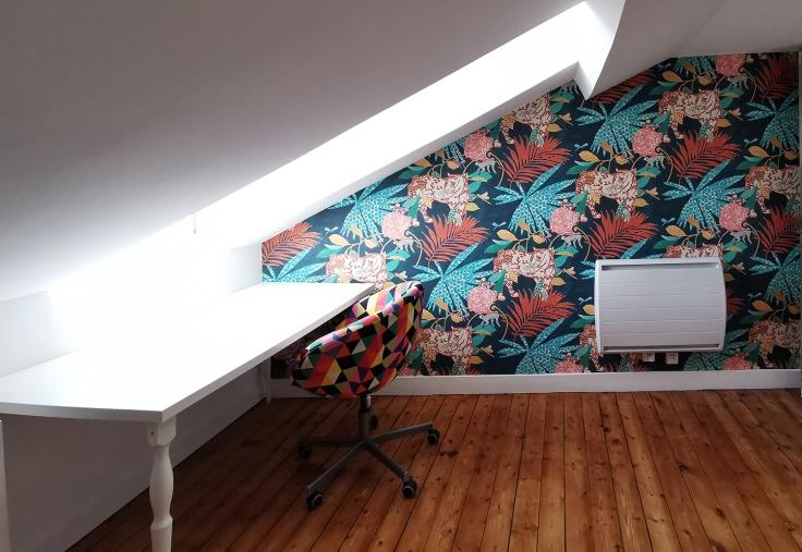 Travaux atelier couture et diy papier peint marburg 11
